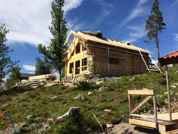 Montering i Lofsdalen