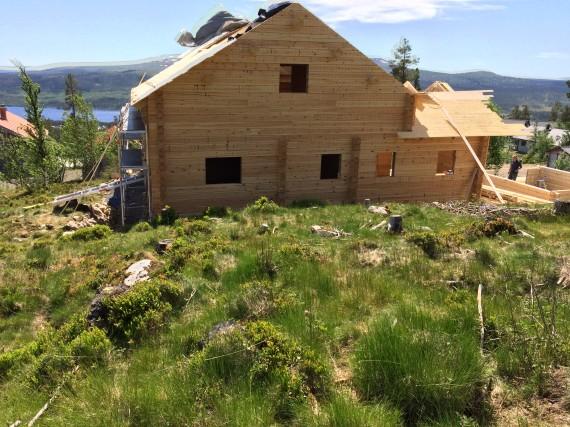 Montering i Lofsdalen 2